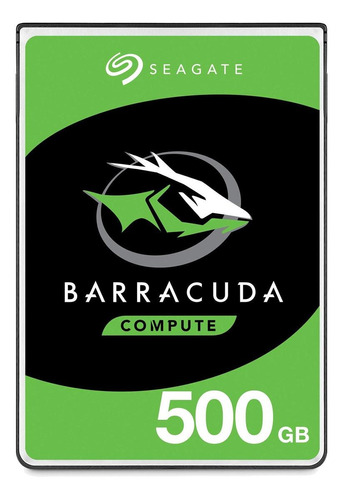 Disco rígido interno Seagate Barracuda Pro ST500LM034 500GB