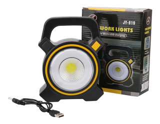 Lampara Linterna Led Solar Recargable Camping Outdoor