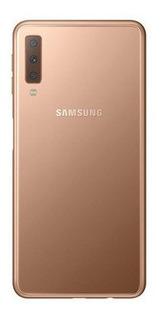 Telefono Samsung Galaxy A7 2018 64gb Dorado Nuevo