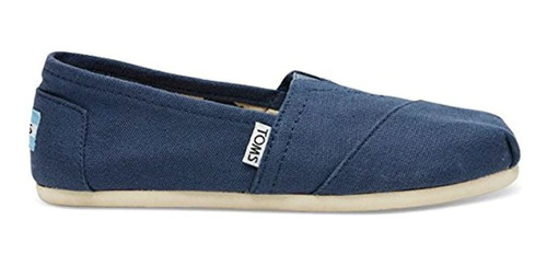 Toms Womens Classics Navy Canvas 001001b07-nvy Mujer 9