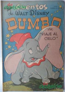 Cómic Cuentos De Walt Disney No. 6 (1950) Dumbo, Ed. Novaro
