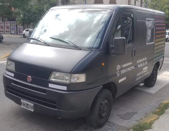Fiat Ducato 1999 Ploteada De Negro Excelente Estado