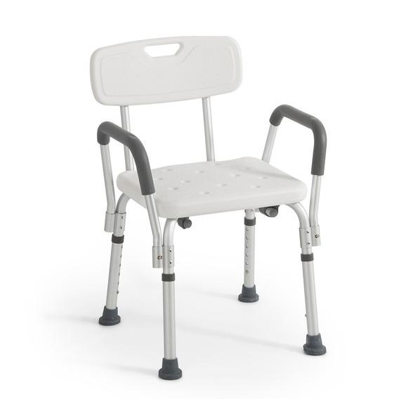 Silla De Baño Con Respaldo Para Discapacitados O Adultos