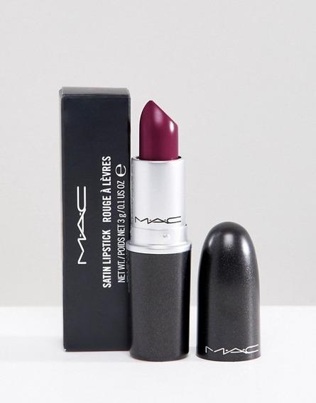 Mac - Labial Rebel (satin), Maquillaje 100% Original !