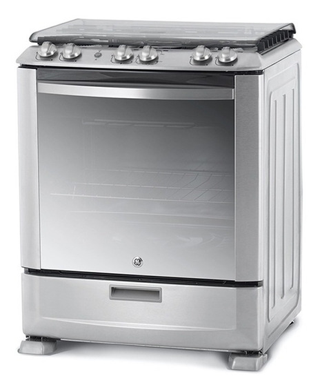 Cocina A Gas Ge Appliances Cg776i Con Grill Inoxidable 76cm