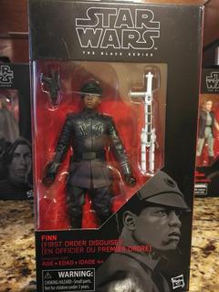 Figura Star Wars Black Series 6 Finn First Order Disguise