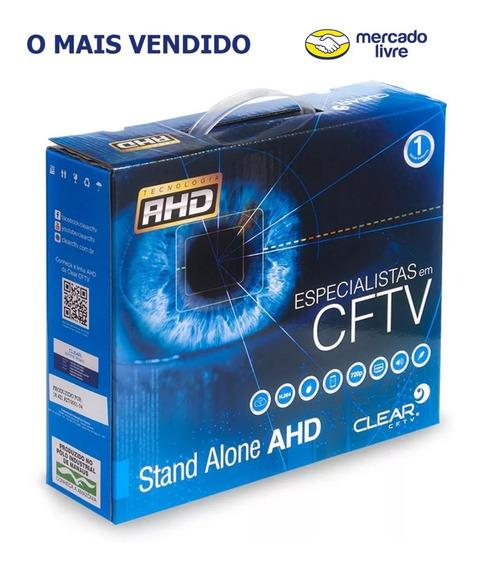 Dvr Clear Stand Alone 4 Canais Clear Ahd Cftv