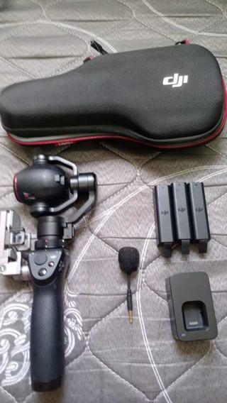 Dji Osmo Plus + Com 3 Baterias E Microfone Extra