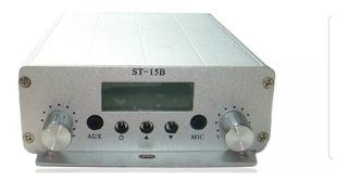 Transmisor De Fm 15 Watts Listo Para Salir Al Aire! Oferta!