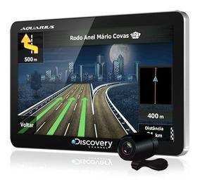 Navegador Gps Automotivo Aquarius 4.3 Tv Digital Camera Ré