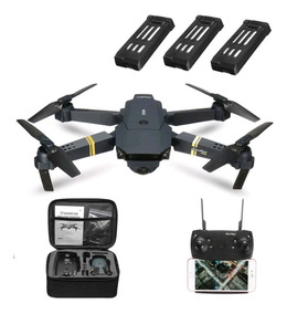 Drone Eachine E58 C/ Câmera Wifi Hd 720p - Mavic Fly More
