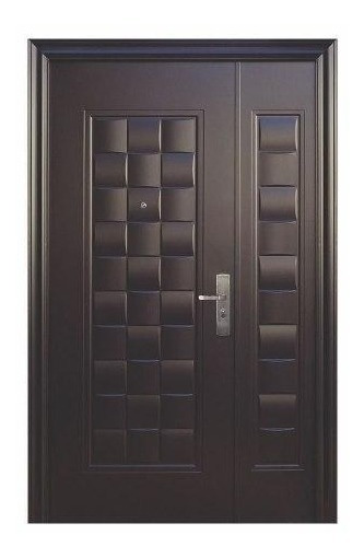 Puerta De Seguridad Xe Luxury C/fijo Aper Izq Acero 100% Ch