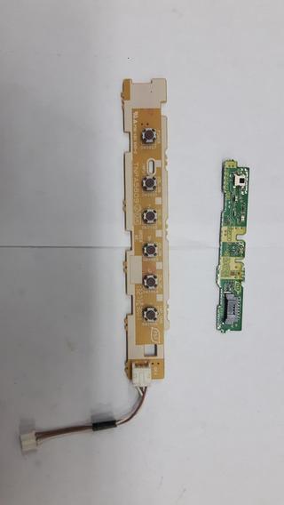 Sensor + Teclado Painel Funções Tv Panasonic Tc-l39em6b