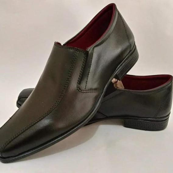 Sapato Casual Masculino Couro Ecologico