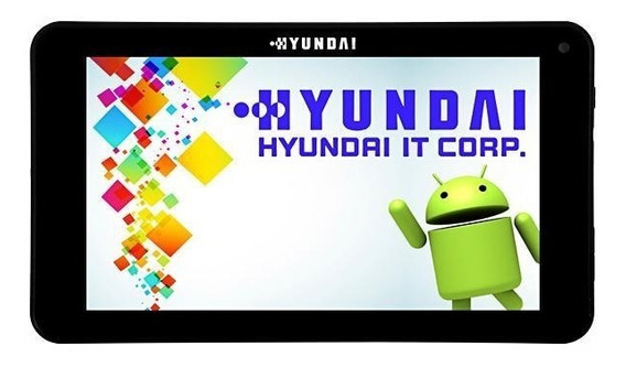 Tablet Hyundai 7433l 7.0 Wi-fi Android 8gb + Capa Galaxy