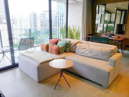 Fl Residence Apartamento Alto Padrão 01 Dormitório 62m² - Sf33140
