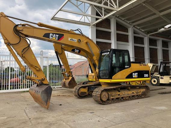 Excavadora Caterpillar 320d Modelo 2009. Retroexcavadora