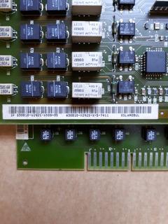 Módulo Siemens 8 Ramais Analógicos Hicom Hipath 3550 8sla