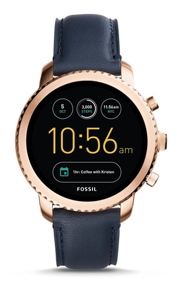 Fossil - Smartwatch Ftw4002 Q Explorist Para Hombre