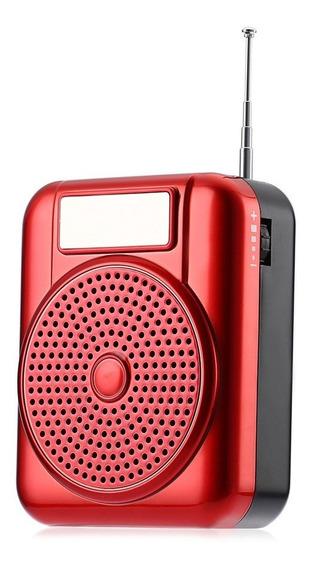 Rádio Receptor Portátil Longruner L-68 Fm Frete Grátis