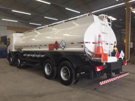 Scania P320 8x2 Aut + Tanque De Combustível 25 Mil Litros
