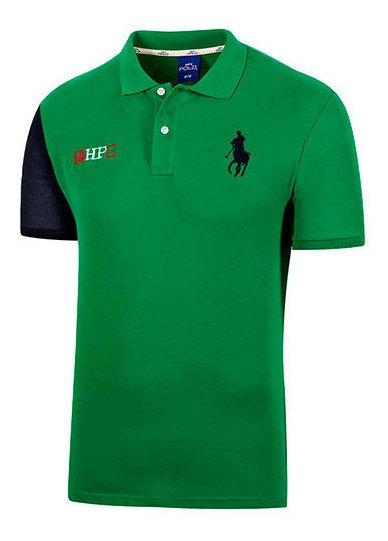 Playera Hombre Pk 92294 Polo Hpc Verde