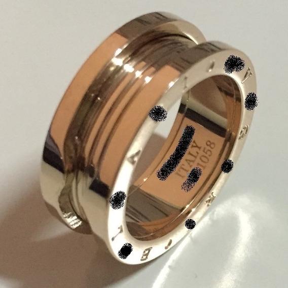 Par - Aliança Anel Em Titânio 8mm Banhado Ouro 18k Filled