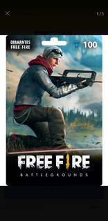 Free Fire 100 Diamantes