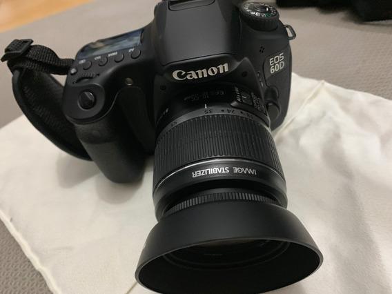 Canon 60d Com 2 Lentes Originais + Kit Acessorio (3mes Uso)