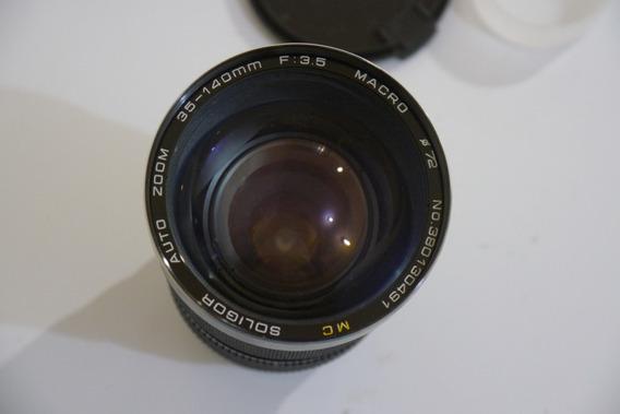 Lente Soligor Zoom 35-140mm Nikon Diafragma 3,5 Constante