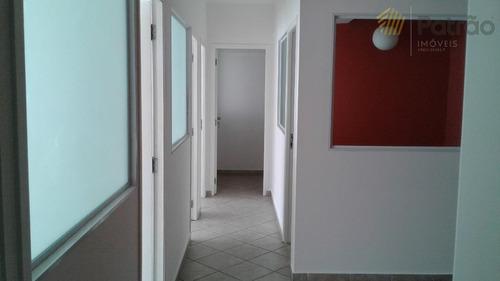 Sala Para Alugar, 73 M² Por R$ 1.242,00/mês - Jardim Do Mar - São Bernardo Do Campo/sp - Sa0299