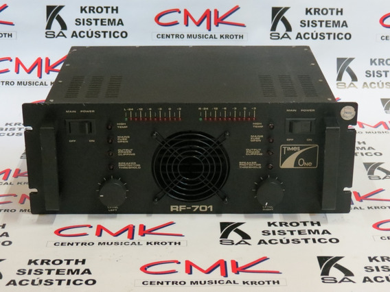 Amplificador Times One Rf 701 (usado)