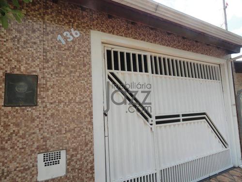 Casa Com 2 Dormitórios À Venda, 100 M² Por R$ 240.000 - Jardim Lucélia - Sumaré/sp - Ca5644