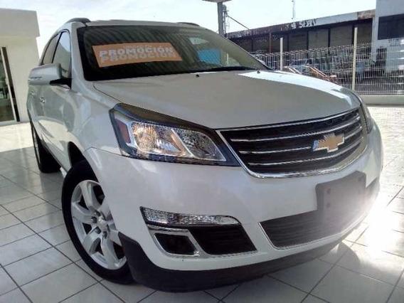 Traverse 2017 Lt Chevrolet Blanco Marfil