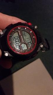 Reloj Digital Kevingston Sumergible Alarm Crono Como Nuevo