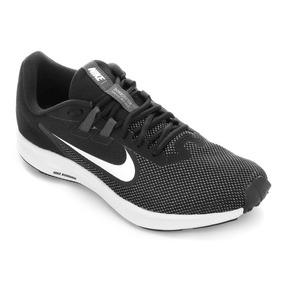 Tênis Nike Downshifter 9 Masculino - Preto E Branco Original