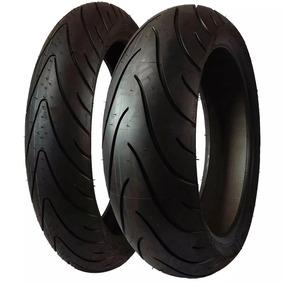 Par Pneu 180/55-17 120/70-17 Michelin Road 2 Hornet Cbr 600