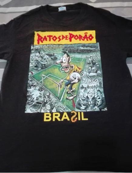 Ratos De Porao - Brasil Playera Talla M