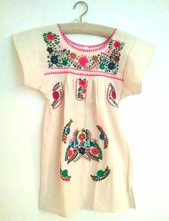 vendido en todo el mundo gran calidad imágenes oficiales Vestido Blanco Bordado Mexicano en Mercado Libre Argentina