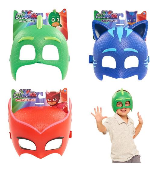 Mascaras De Pjmasks Heroe En Pijama Super Oferta