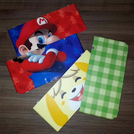 Cover Plate New 3ds Edição Mario + Animal Crossing