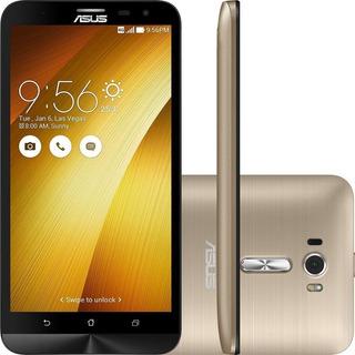 Asus Zenfone 2 Ze551ml 32/4gb Dual 13mp Dourado Vitrine 3