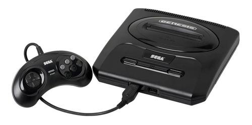 Consola Sega Genesis  negra
