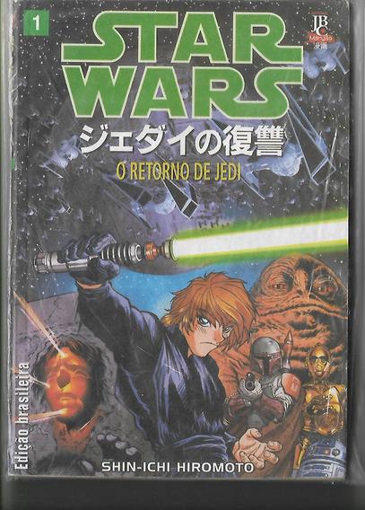 Mangá Star Wars O Retorno De Jedi 1 - Editora Jbc