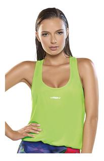 Camisilla Deportiva Verde Para Mujer - Haby (61520)