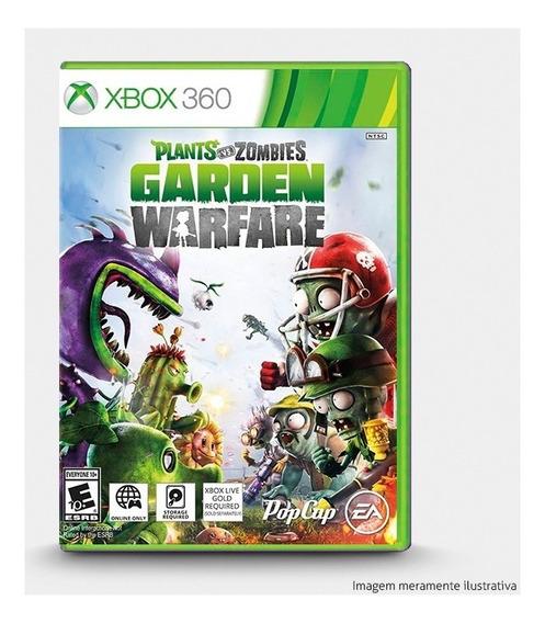 Plants Vs Zombies Garden Warfare Original Para Xbox 360 Novo