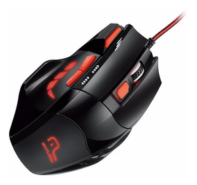 Mouse Optico Gamer Fire Button Usb 2400 Dpi Mo236 Multilaser