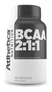 Bcaa 2:1:1 - 60caps - Atlhetica Nutrition