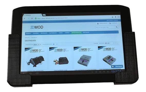 Suporte iPad Tablet Celular Lateral Até 1 Cm De Parede