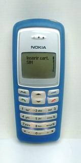 Nokia 2100 (azul) Operadora Oi Raridade Tc Alta Iluminaçao
